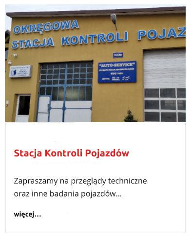 stacja kontroli pojazdów Karczew